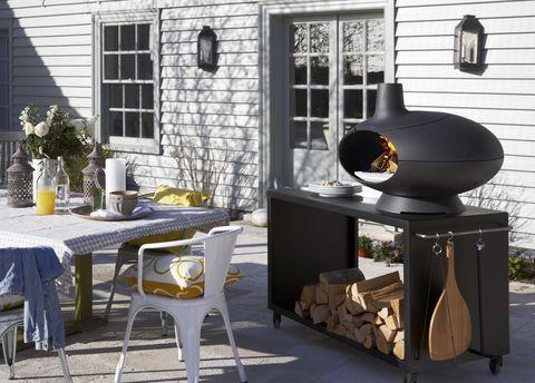 outdoor kitchen  morso forno outdoor oven