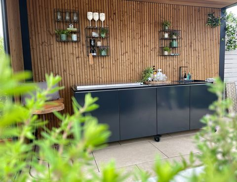garden house design vlaze outdoor kitchen