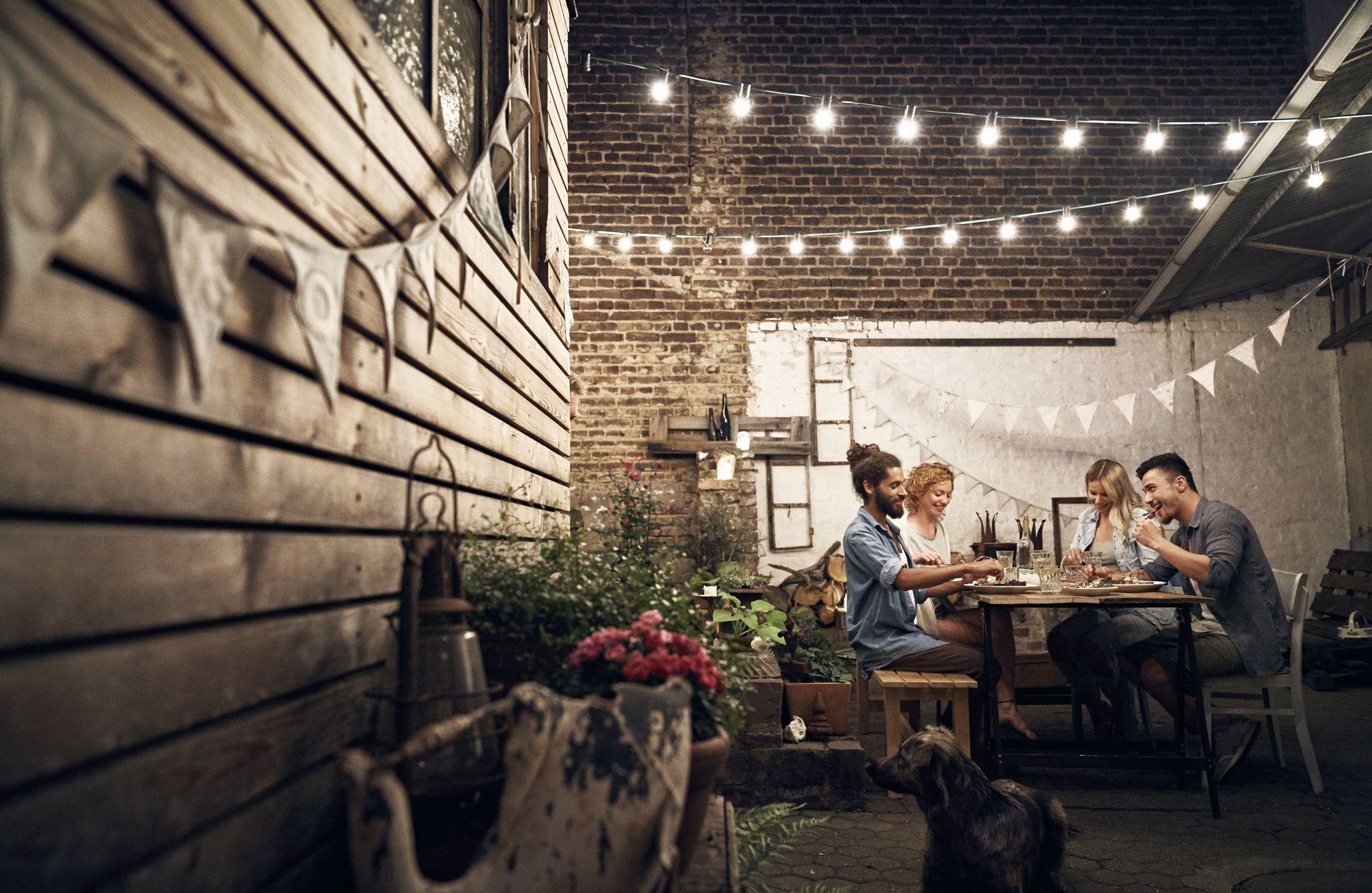 15 Best Outdoor Lighting Ideas Easy Backyard Lighting Ideas