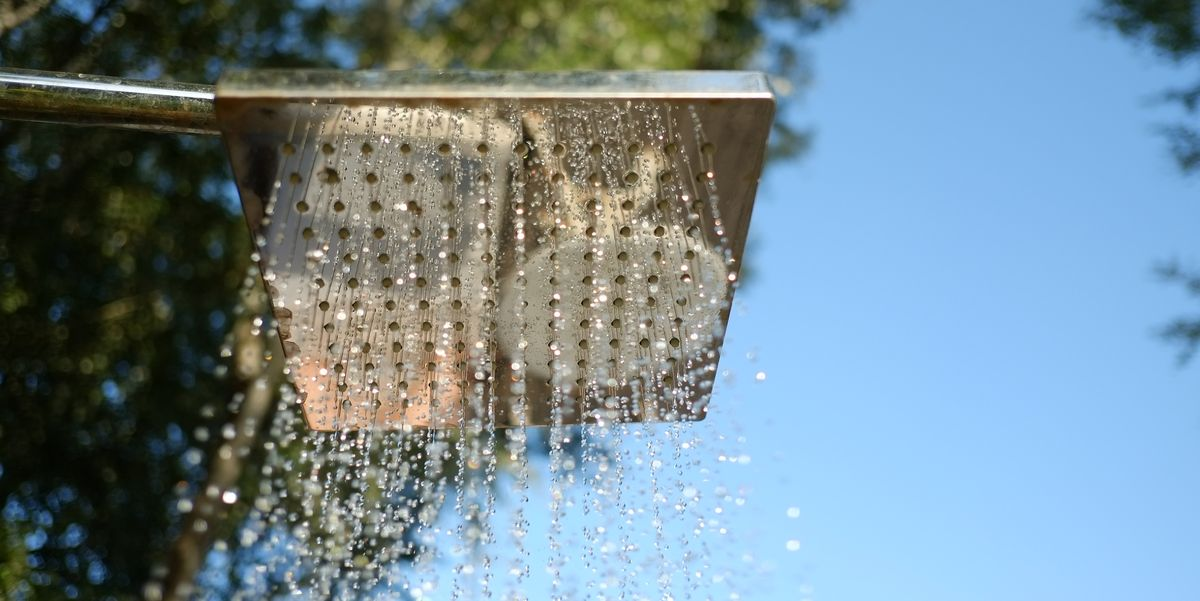 DIY Outdoor Shower Ideas You'll Be Thankful You Built When Summer Rolls Around