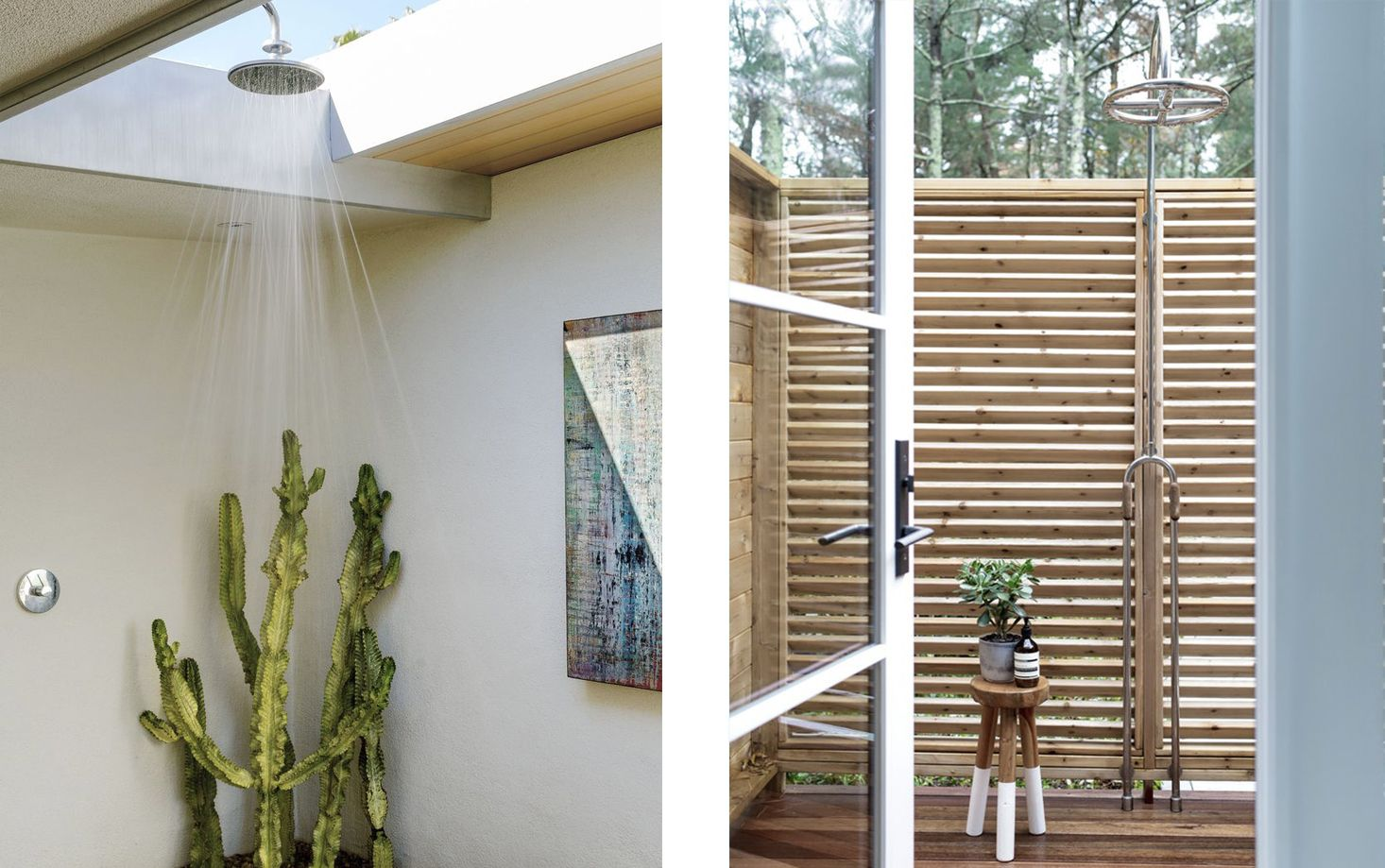 17 Luxurious Outdoor Showers to Wash Away All Your Stress