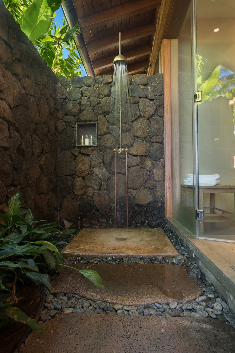 17 Outdoor Shower Design Ideas Chic Enclosures For