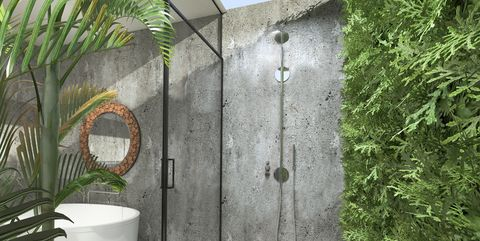 17 Outdoor Shower Design Ideas - Chic Enclosures for Outdoor Showers