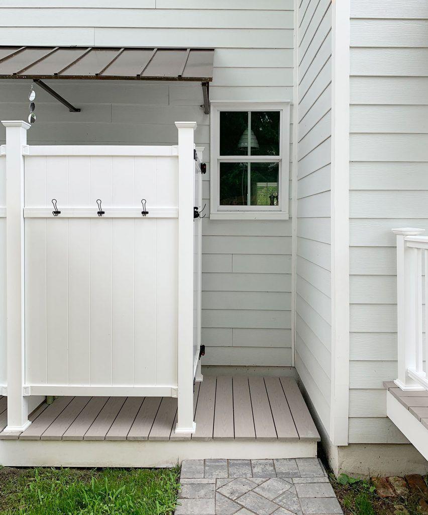 16 Diy Outdoor Shower Ideas Easy Outdoor Shower Designs