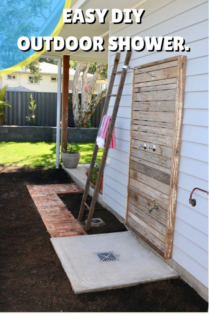 16 Diy Outdoor Shower Ideas Easy