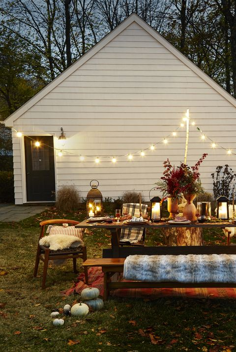 Outdoor Thanksgiving Decoration