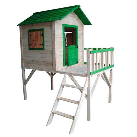 Caseta infantil: con escalera