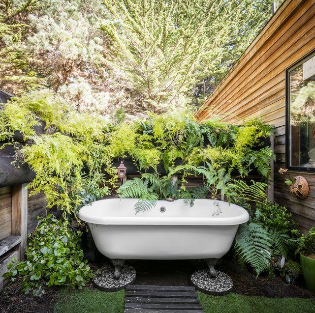 Outdoor Soaking Tub Ideas, Images Of Garden Tubs