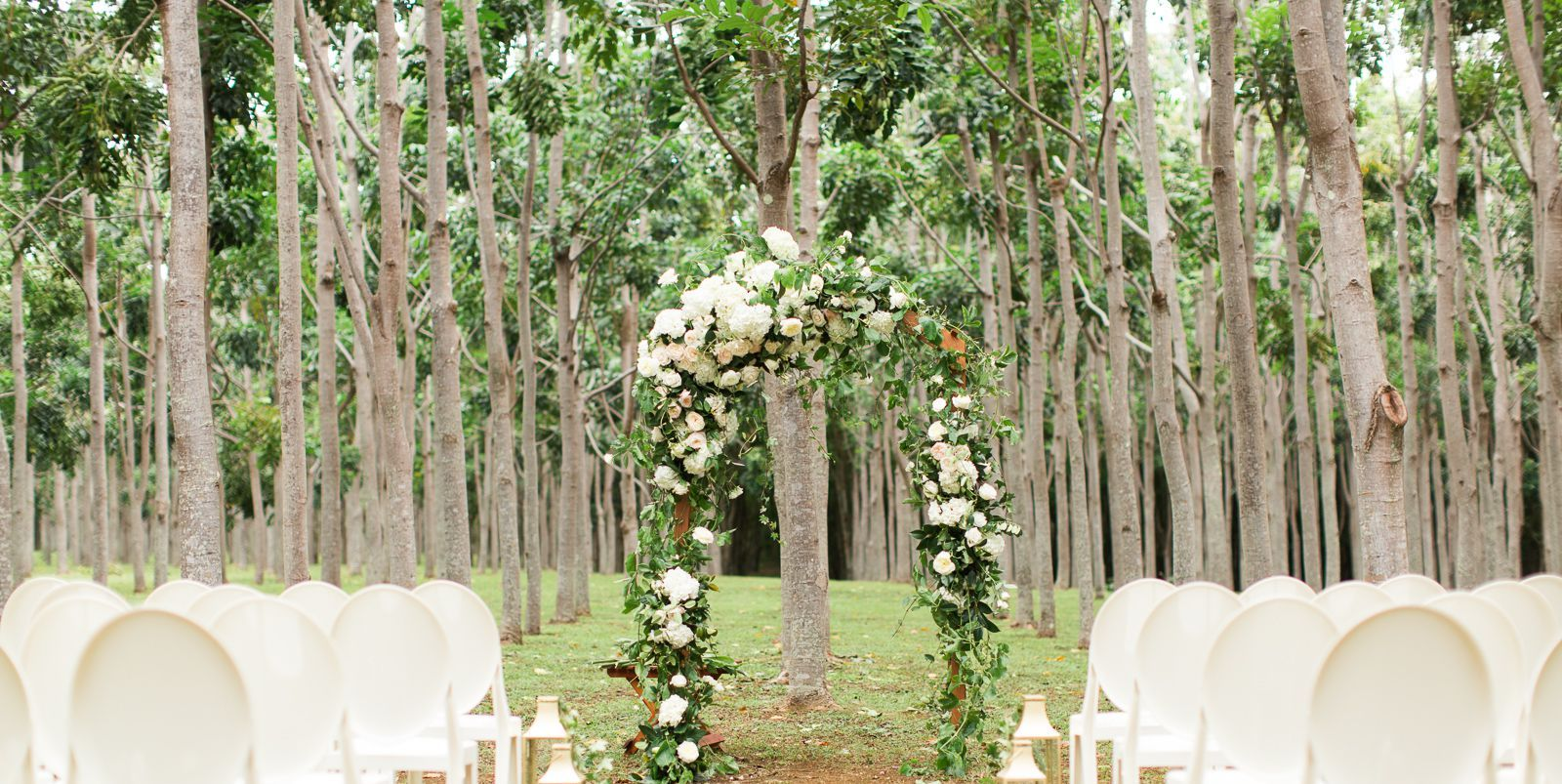 Evening Backyard Wedding Ideas