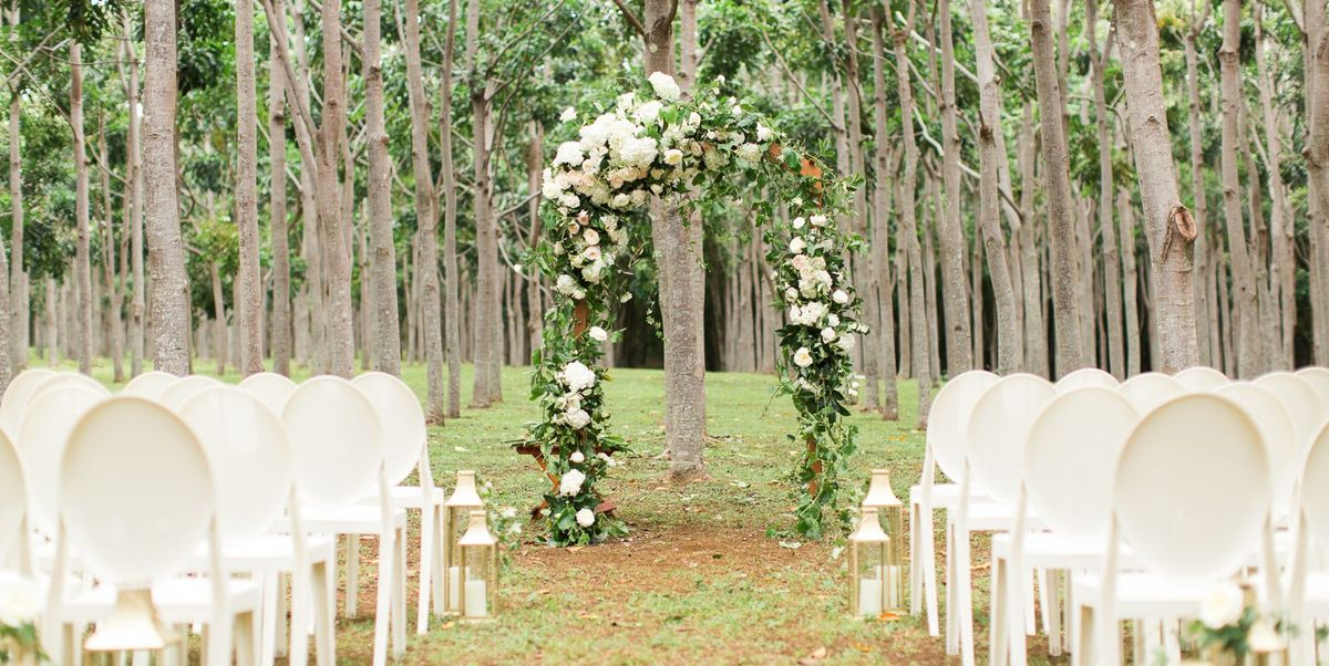 Simple Outdoor Ceremony Decorations: Decorations For A Fun Outside