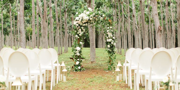 35 Outdoor Wedding Ideas - Decorations for a Fun Outside Spring ...