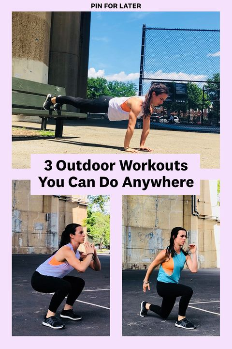 The Best Outdoor Workouts For People Who Usually Stick To The Gym