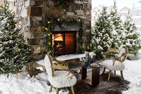 15 Outdoor Fireplace Design Ideas Best Backyard Fire Pits
