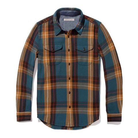 Plaid, Clothing, Pattern, Tartan, Sleeve, Shirt, Textile, Dress shirt, Design, Orange,