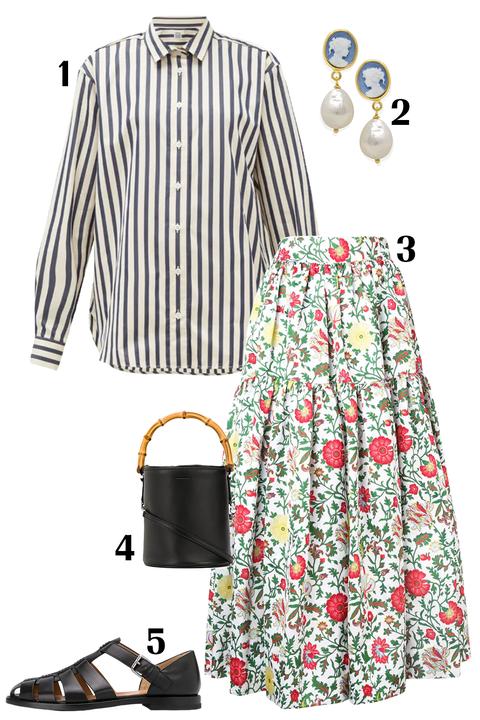 Clothing, White, Dress shirt, Style, Sleeve, Pattern,