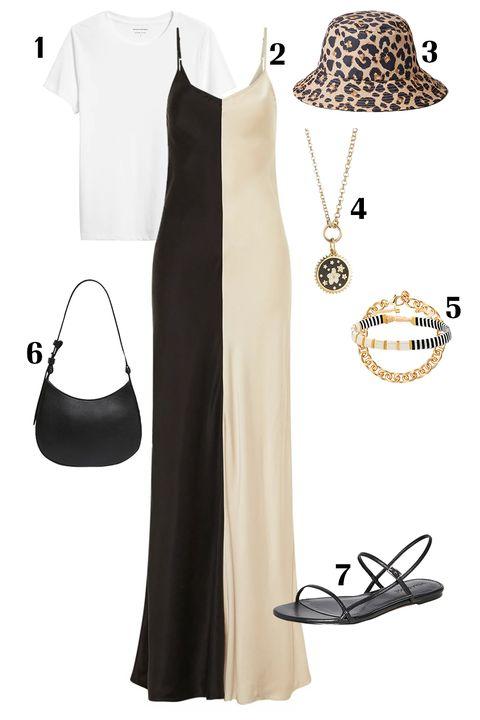 slip dress outfit ideas
