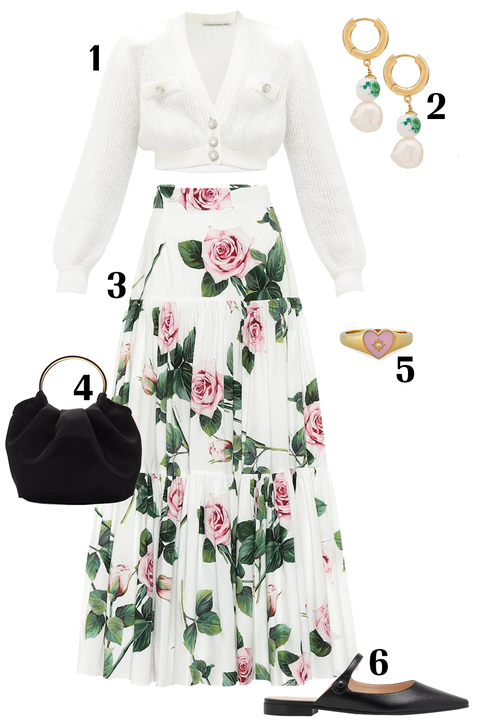 Clothing, White, Dress, Day dress, Sleeve, Plant, Formal wear, Gown, Fashion design, Costume design,