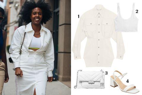 White, Clothing, Suit, Fashion, Formal wear, Outerwear, Blazer, Dress, Jacket, Coat,