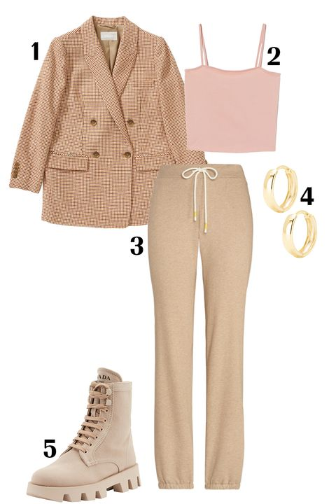 White, Clothing, Footwear, Beige, Shoe, Pink, Brown, Fashion, Jeans, Outerwear,