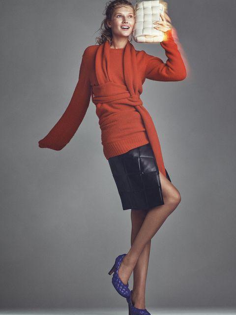 outfit-colorato-autunno-inverno-2019-Bottega-Veneta