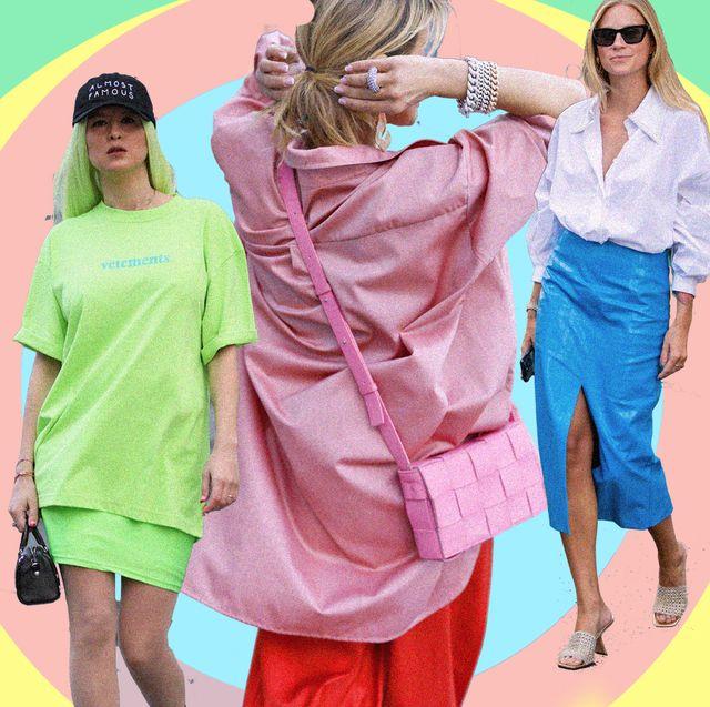outfit estivi ragazza, ci sono 15 idee per outfit matrimonio e outfit laurea a base multi colore, dai vestiti rosa ai pantaloni palazzo, scegli solo outfit colorati