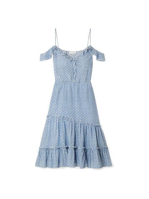 Clothing, White, Dress, Day dress, Turquoise, One-piece garment, Pattern, Cocktail dress, Pattern, Textile,