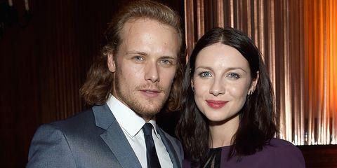 Outlander cast dating