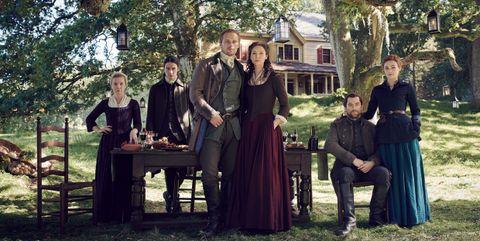 En 'Outlander 5' Jamie y Claire son, por fin, felices según sus protagonistas