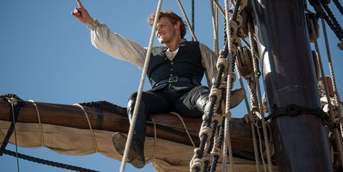 Sam Heughan as Jamie in Outlander