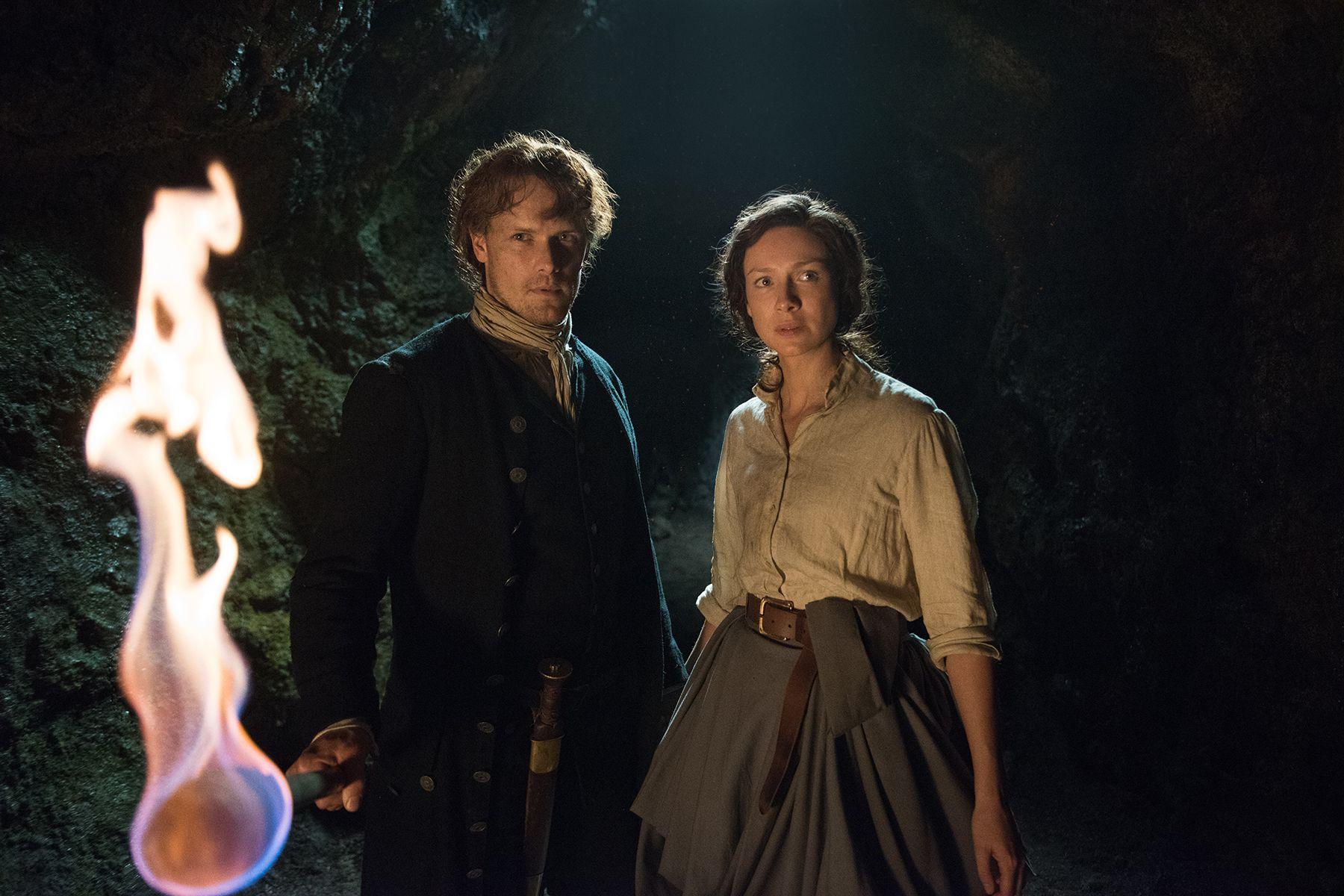 Outlander Season 3 Finale Sam Heughan Caitriona Balfe