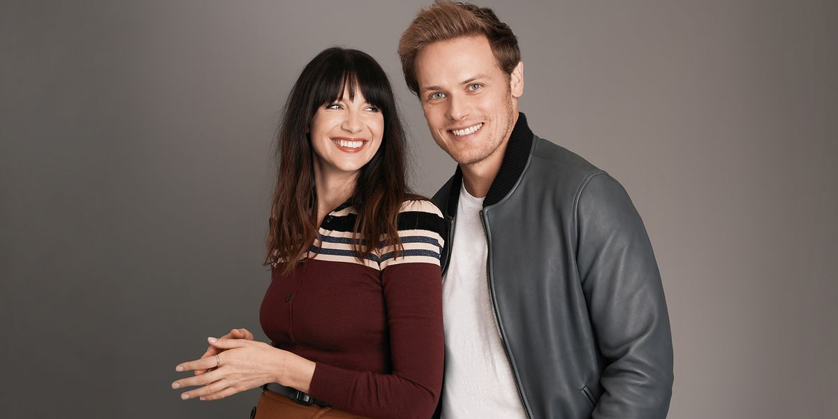Outlander Stars Caitriona Balfe and Sam Heughan Interview ...