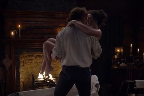 outlander temporada 4 escena sexo