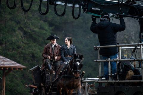 comienza el rodaje de la temporada 6 de 'outlander'