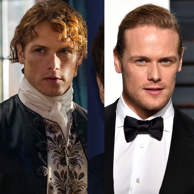 20 Photos of What the Cast of Outlander Looks Like in Real Life