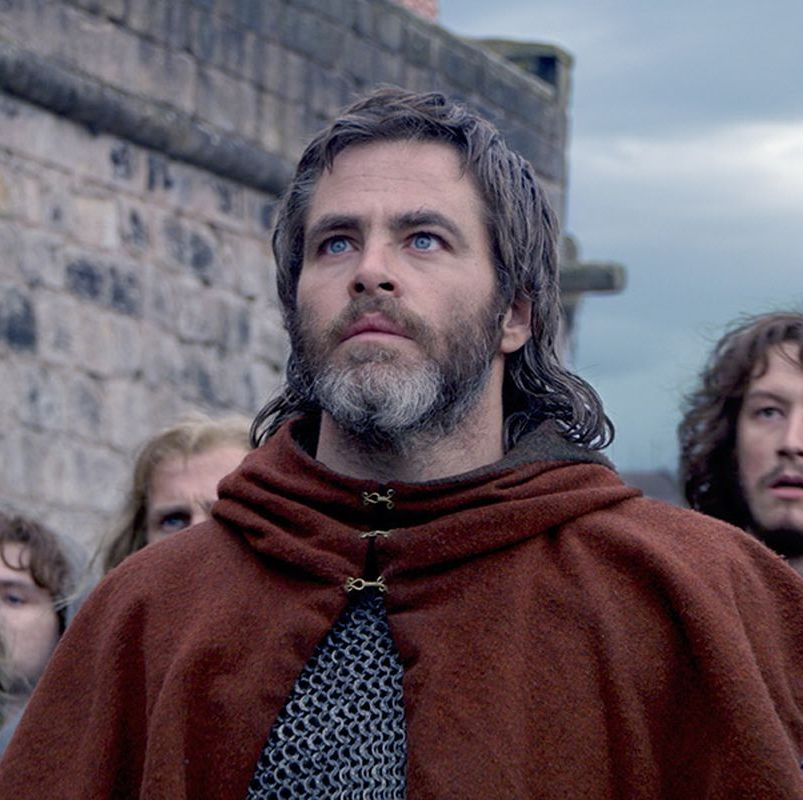 Outlaw King Chris Pine plays Robert the Bruce, the crowned king of Scotland who is exiled from his country and bands together a team of fellow outlaws to assist him in his efforts to reclaim his throne.