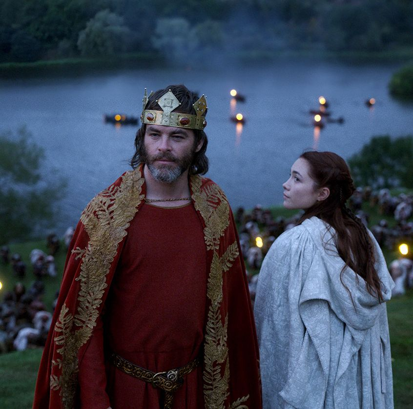 Outlaw King You may have heard about Chris Pine's full-frontal scene, which is barely sexy. But his love scene with co-star Florence Pugh is certainly hot and heavy.