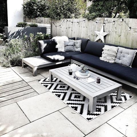 scandi style garden