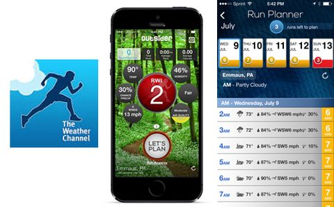 The Weather Channel Introduces New Running App | Runner's World