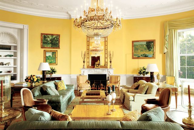white house oval room