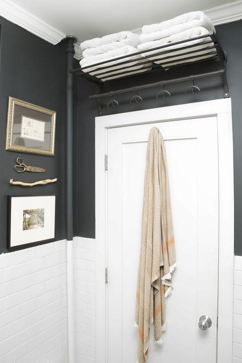 Over Door Shelf - Bathroom Shelf Ideas