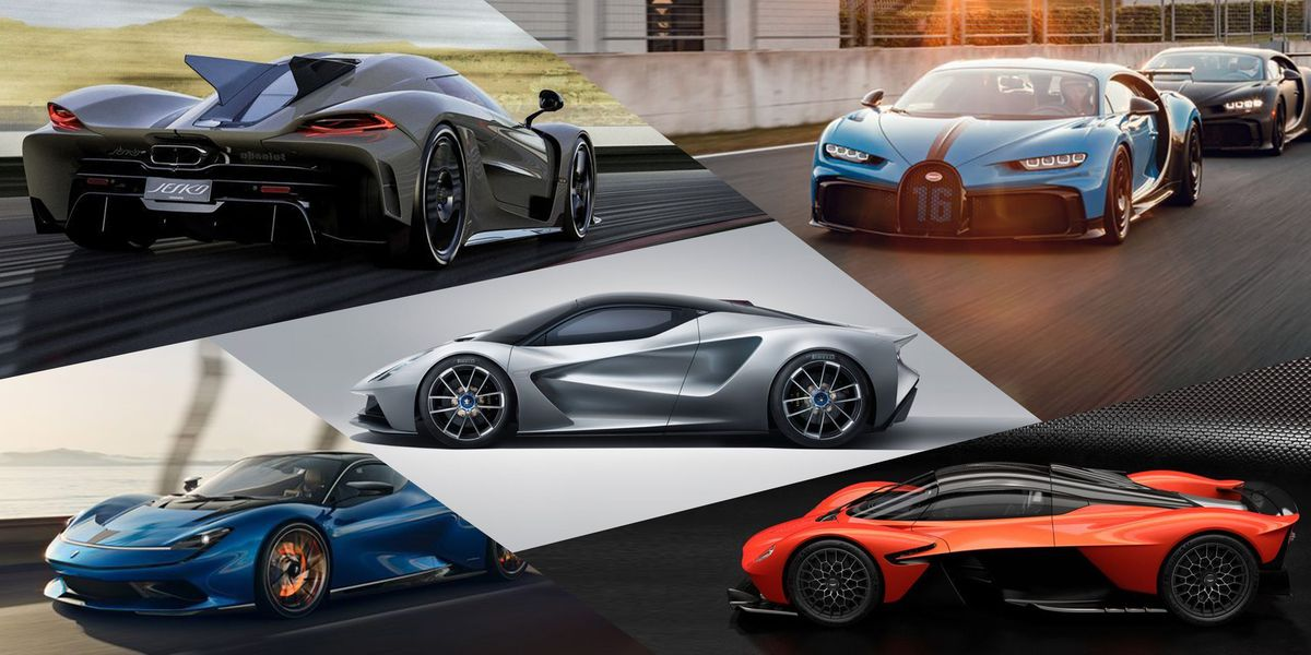 All the 1,000-horsepower supercars in the world