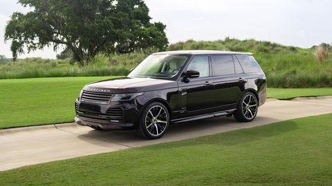 range rover lwb sandringham edition