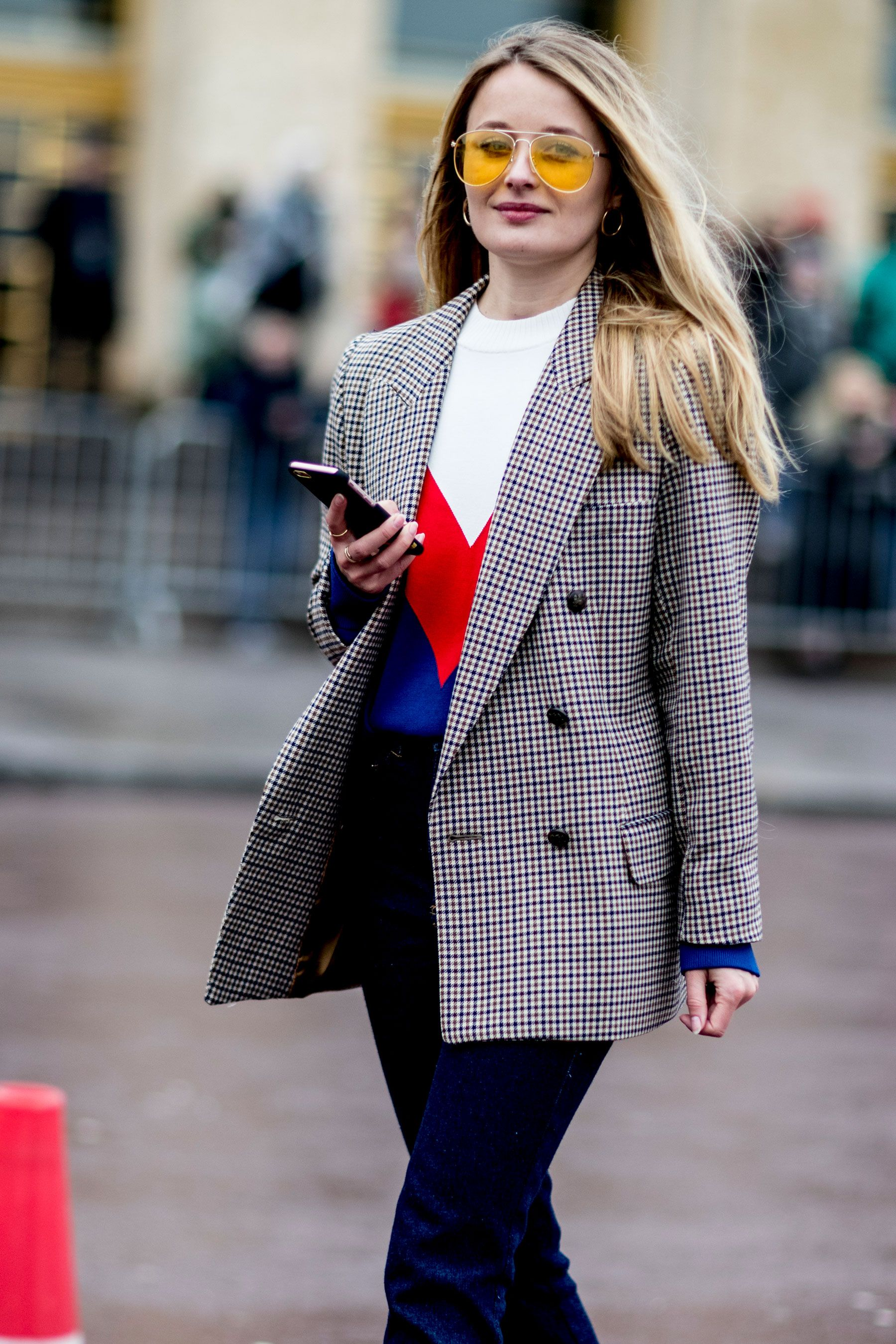Street Style Stars Prove Oversized Blazers Are a Fall Must,Have