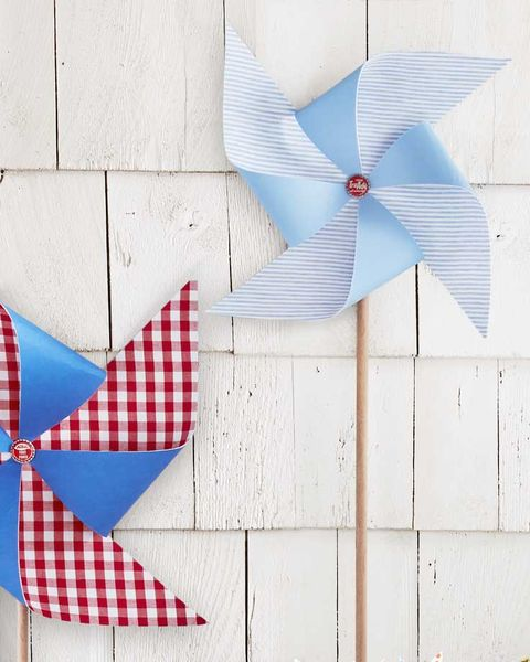 summer diy craft oversized fabric pinwheels