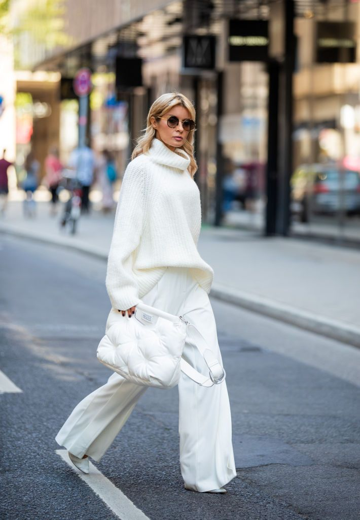 The flattering way to wear oversized jumpers , how to wear