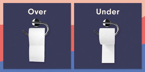 toilet paper holder debate