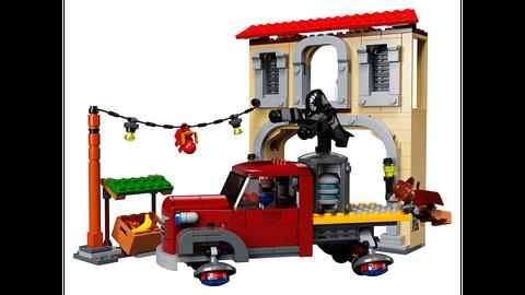Overwatch Lego Batalla Final Dorado