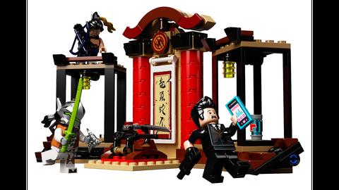 overwatch lego hanzo vs genji