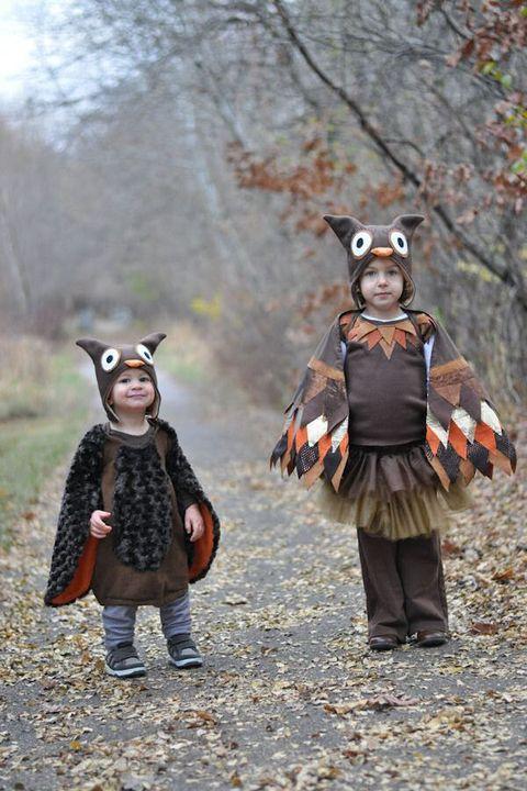 owl homemade halloween costume for kids