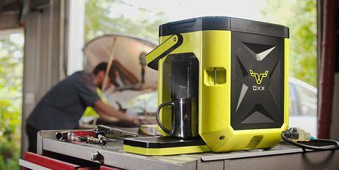 garage coffee maker